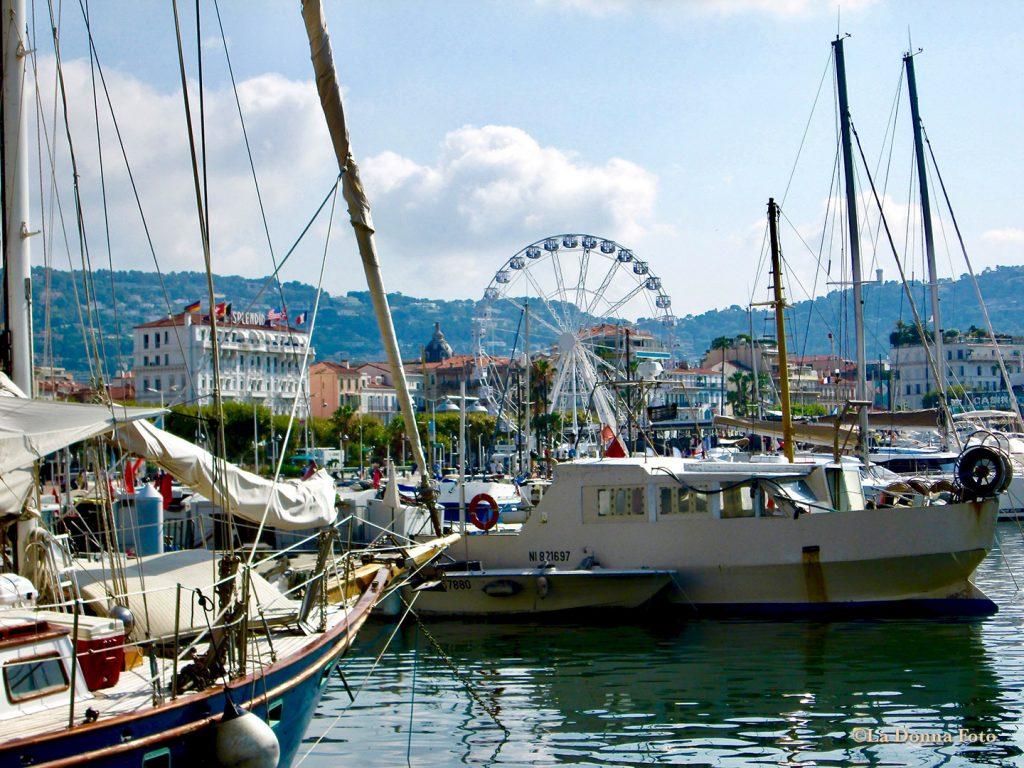 Harborside at Cannes-France - Italian Landscape Photography - La Donna Foto Houston, TX 77007