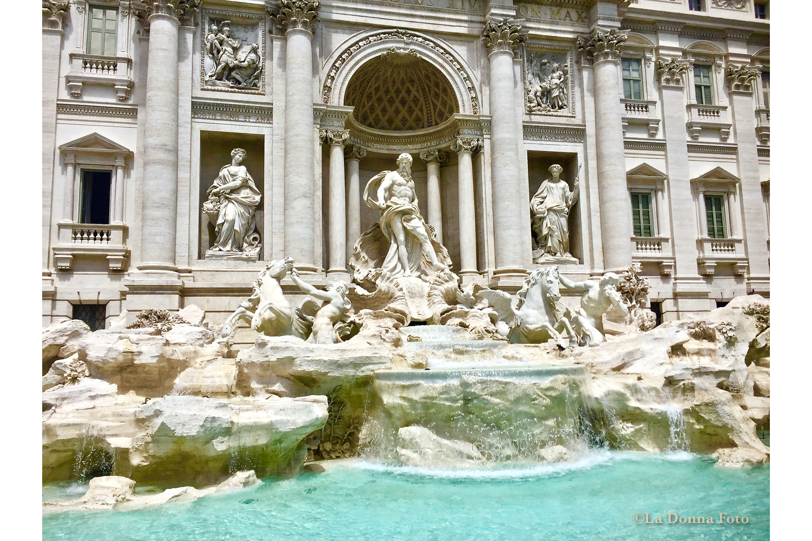 Trevi Fountain-Rome - Italian Landscape Photography - La Donna Foto Houston, TX 77007