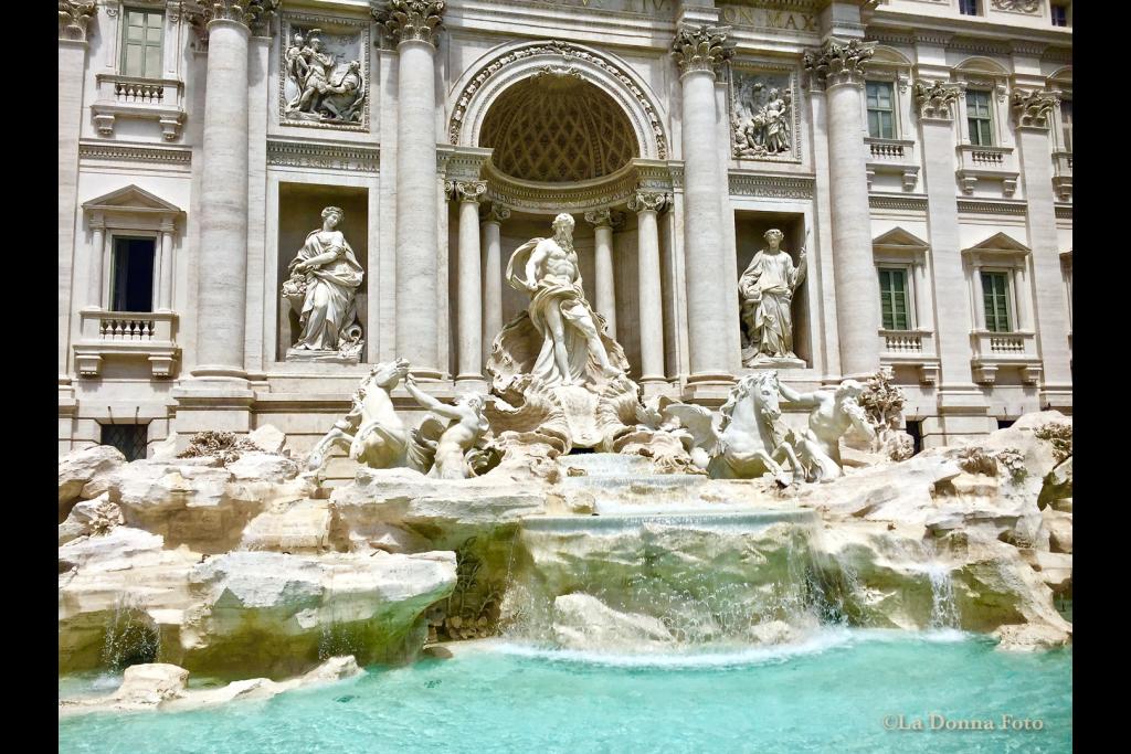 Trevi Fountain-Rome - Italian Landscape Photography - La Donna Foto Houston, TX 77007