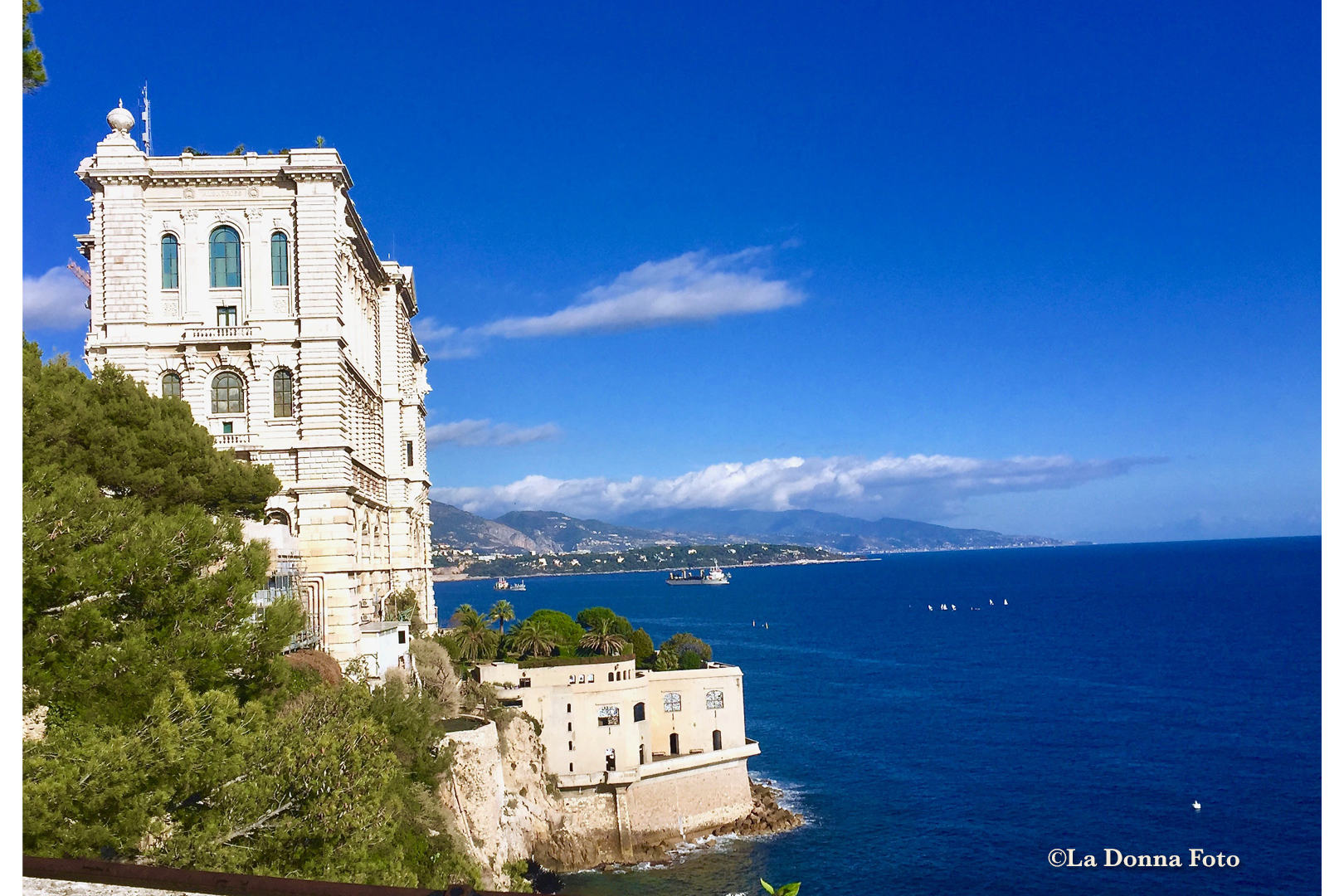 Living on the Edge, Monte Carlo - Italian Landscape Photography - La Donna Foto Houston, TX 77007