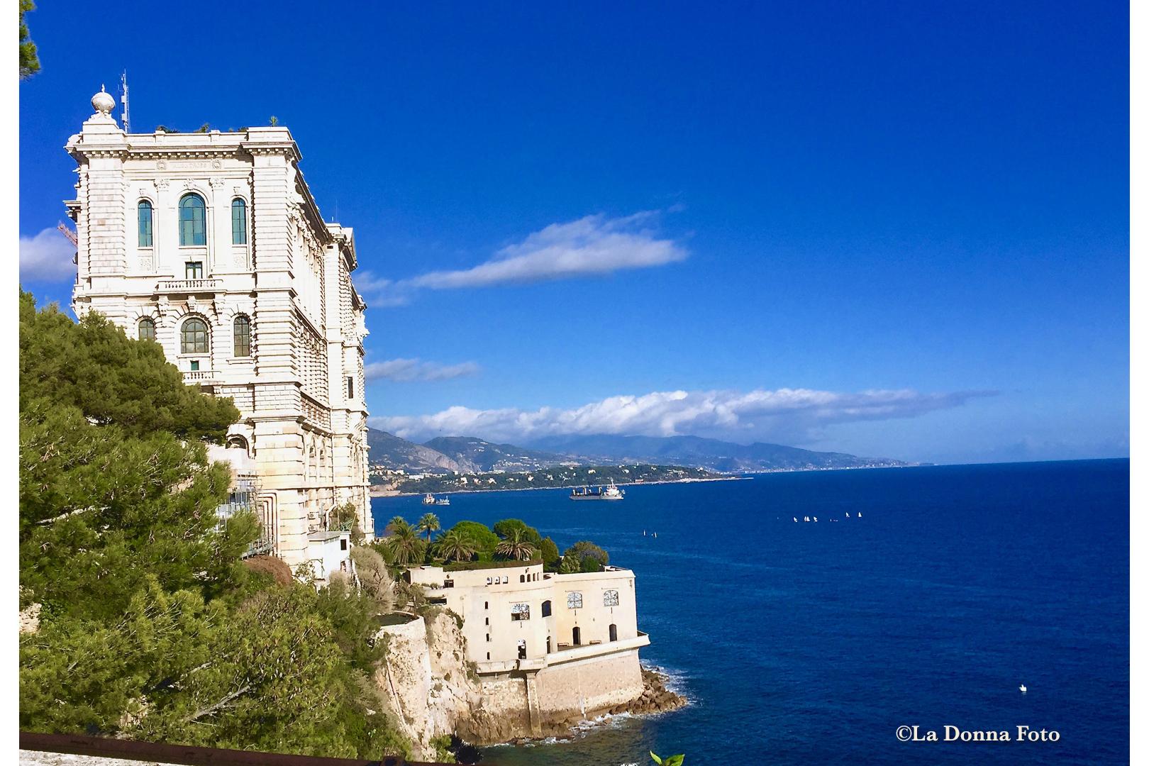 Living on the Edge, Monte Carlo - Italian Landscape Photography - La Donna Foto Houston, TX 77007