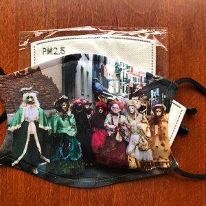 Protective Mask with custom photo print - LaDonnaFoto.com