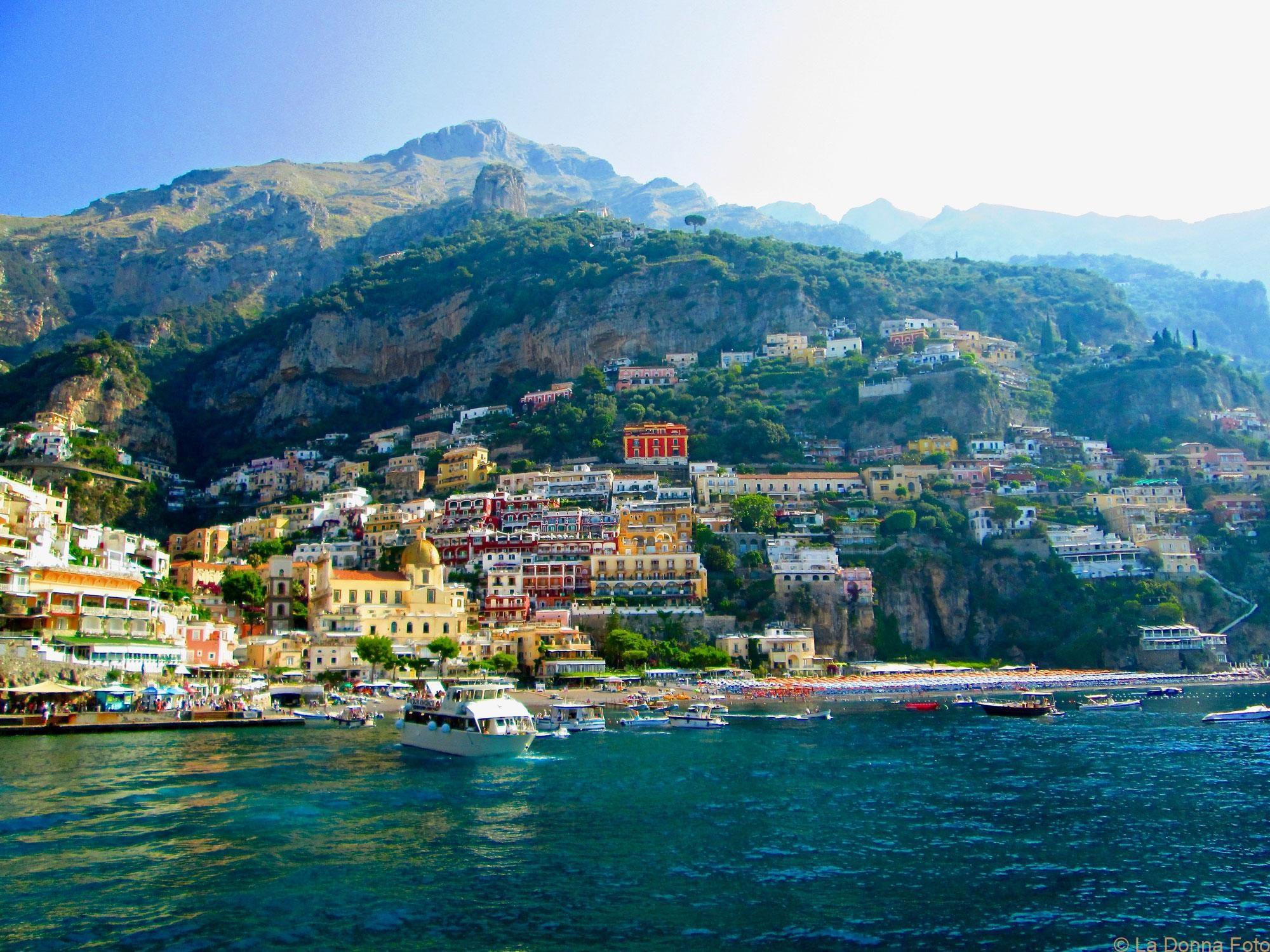 Positano by Ferry 2018